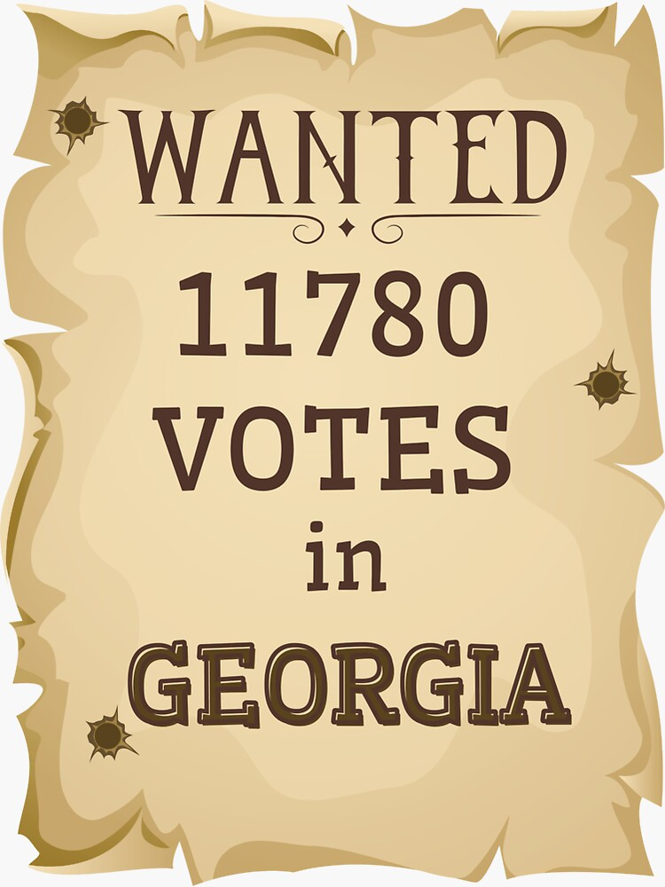 Wanted 11780 votes in Georgia, Trump pressures Georgia elections by ds-4