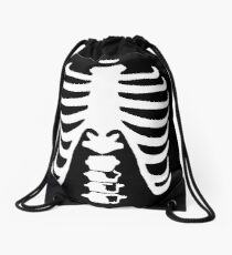 Skeleton Drawstring Bag