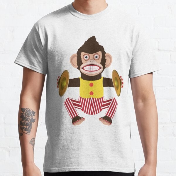 Monkey with cymbals. Classic T-Shirt