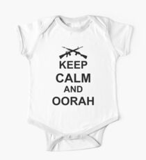 Keep Calm and Oorah - Marines Kids Clothes