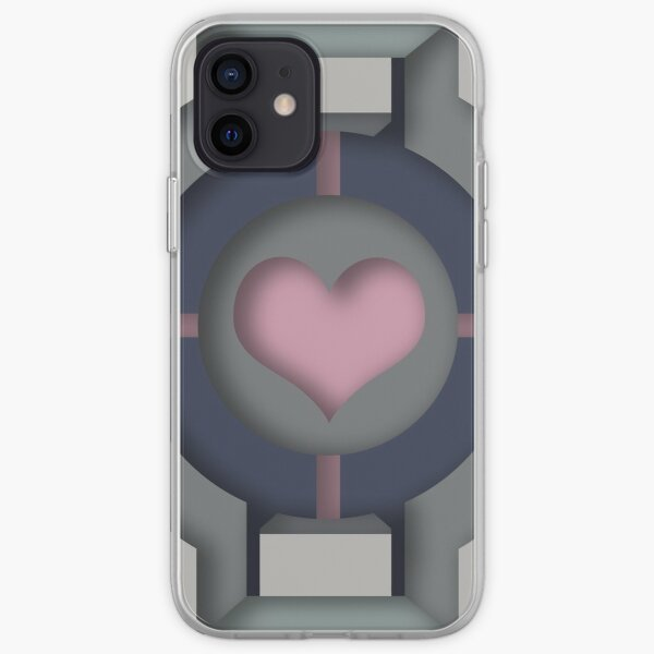 Companion Cube iPhone Soft Case