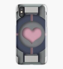 Companion Cube iPhone Case