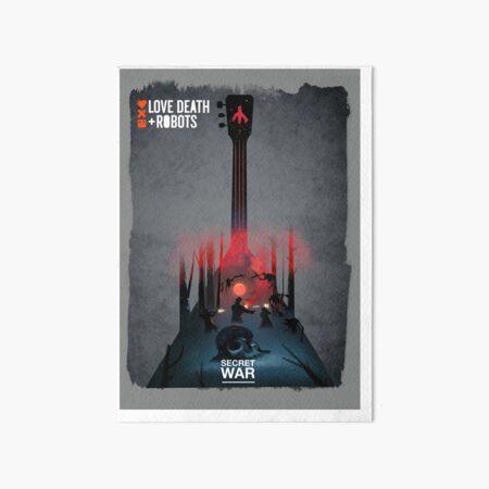 Love death & robots - Secret War Art Board Print