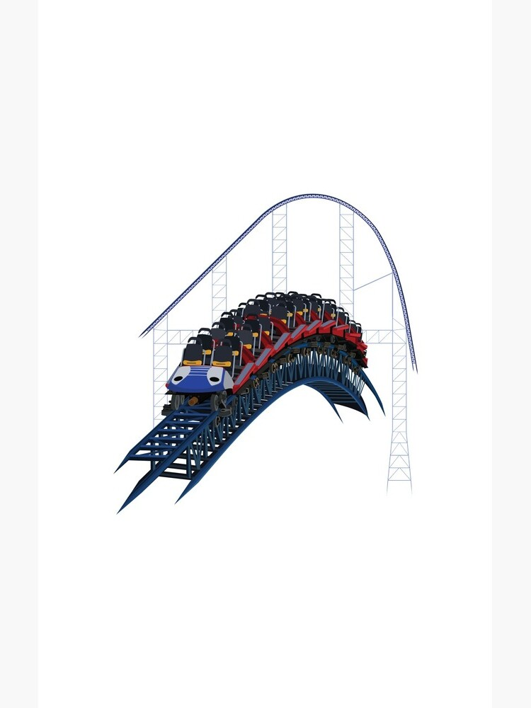 Millennium Forces Airtime Design by CoasterMerch