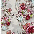 ChibiMoon Pattern by KatArtDesigns