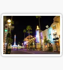 Hollywood Boulevard Sticker