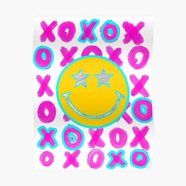 glitter smiley  Poster