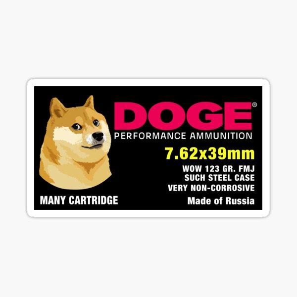 Doge Ammo Sticker