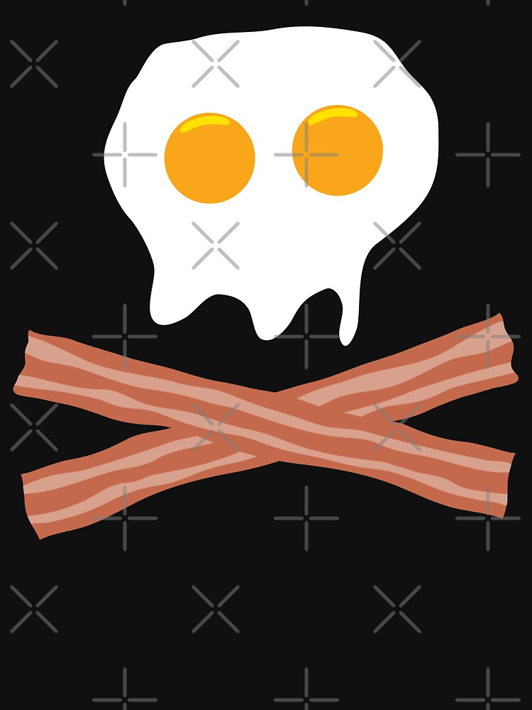 Eggs Bacon Skull by dave-williams