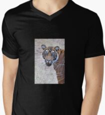 Young Male Tiger Closeup T-Shirt