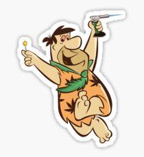 Fred Flintstoner Sticker