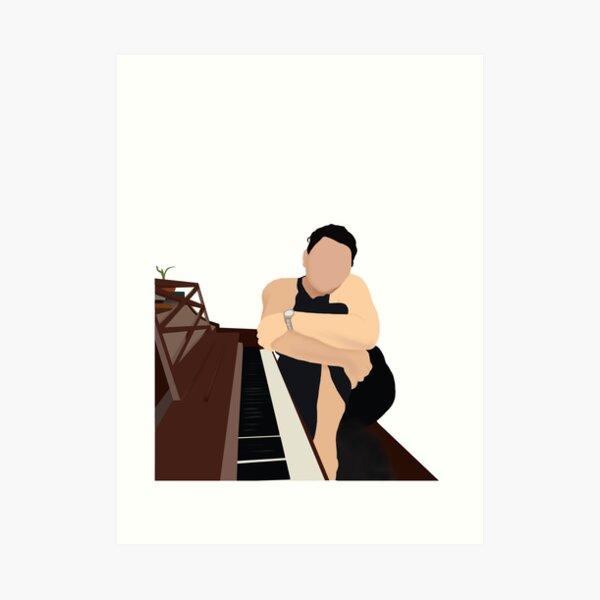 Elena at the Piano Art Print