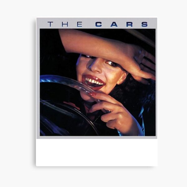 The Cars Poster Cover Canvas Print