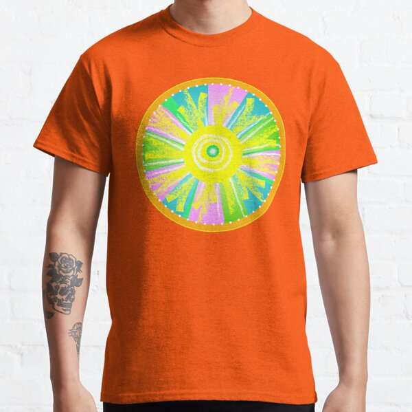 Let there Be Light - Round Classic T-Shirt