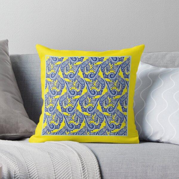 Barden Bellas Paisley Scarf Throw Pillow