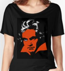 A Clockwork Orange. Beethoven. Women's Relaxed Fit T-Shirt