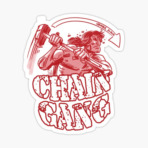 Chain Gang #1 Sticker
