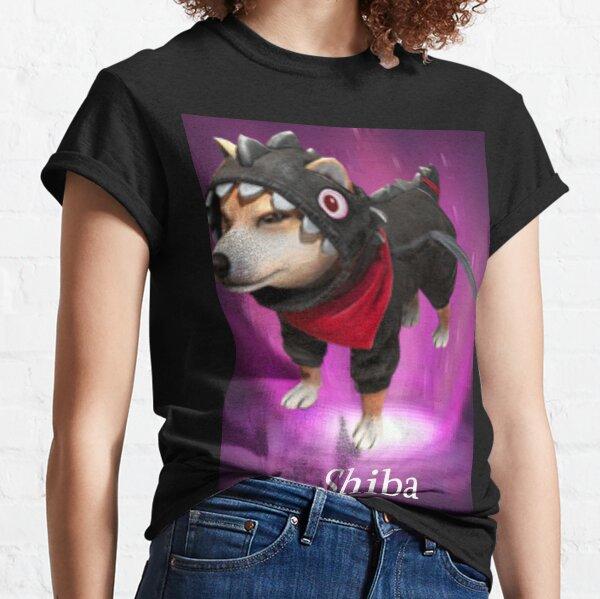 mascota shiba free fire Camiseta clásica