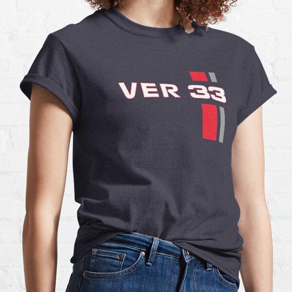F1 Verstappen 33 Formula1 Car Red bull Racing 2021 Classic T-Shirt