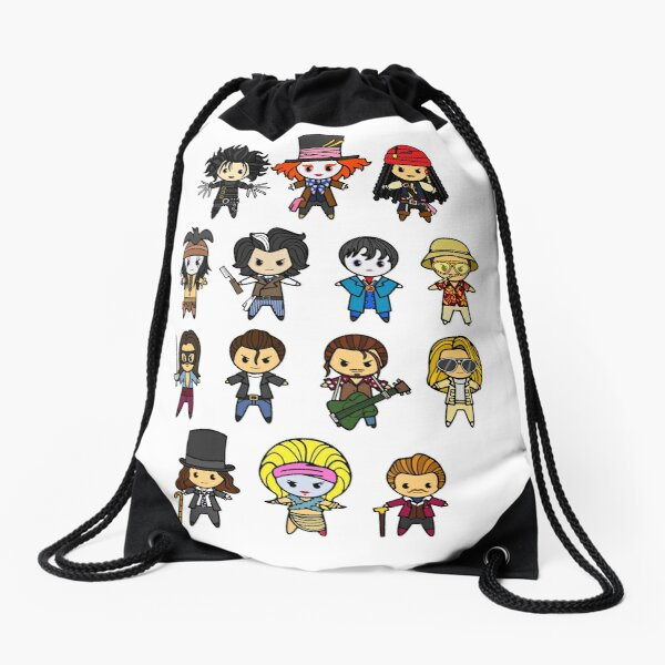 The Johnny Depp Collection Drawstring Bag