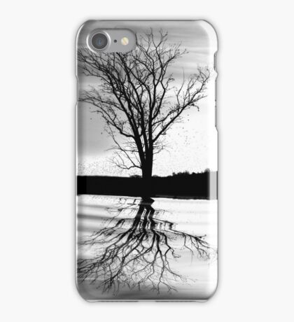 At End of Day III (Image & Poem) iPhone Case/Skin