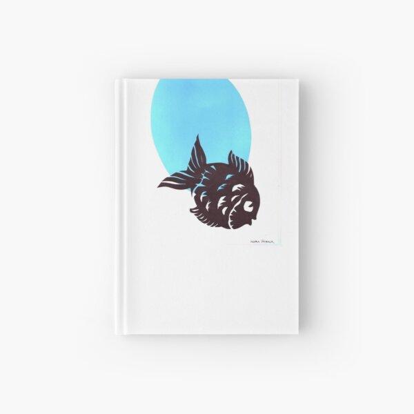 Silhouette Fish Design 2 Hardcover Journal