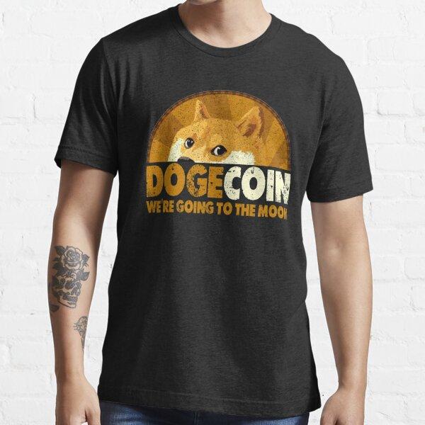 DogeCoin vamos a la luna Camiseta esencial