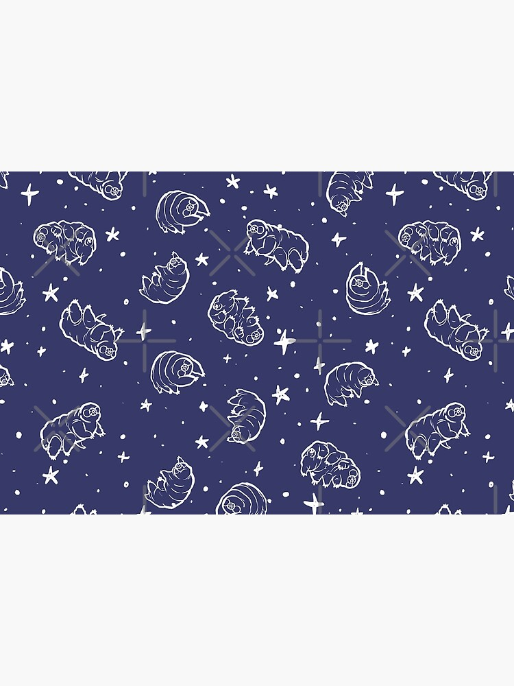 Tardigrades in Space (blue) by PicajoArt