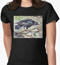 Corvus capensis - Coco Women's Fitted T-Shirt