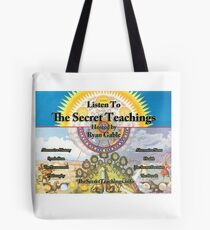 The Secret Teachings - Alchemical Logo (Poster & Stickers) Tote Bag