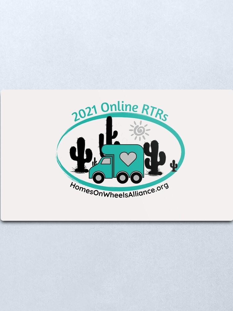 Alternate view of 2021 Online RTRs Metal Print