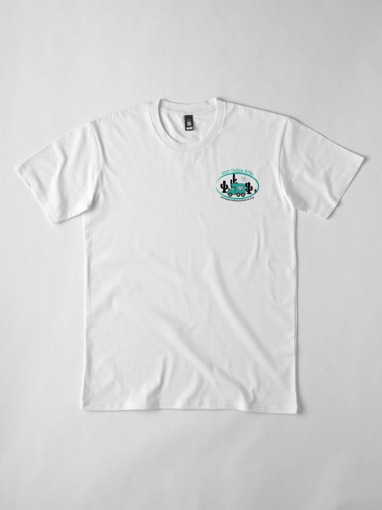 Alternate view of 2021 Online RTRs Premium T-Shirt