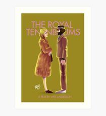 The Royal Tenenbaums by Wes Anderson Art Print