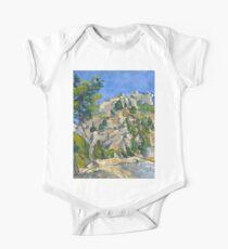 1874 - Paul Cezanne - Bottom of the Ravine One Piece - Short Sleeve
