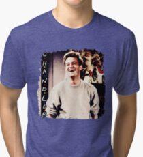 Friends --- Chandler Bing Tri-blend T-Shirt