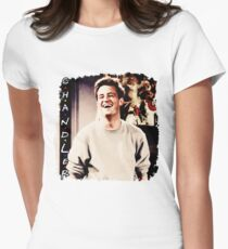 Friends --- Chandler Bing Womens Fitted T-Shirt