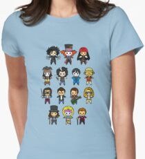 The Johnny Depp Collection Womens Fitted T-Shirt
