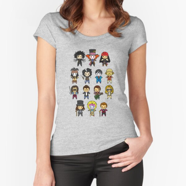 The Johnny Depp Collection Fitted Scoop T-Shirt