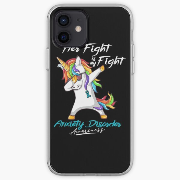 Her Fight Is My Fight Anxiety Disorder Awareness iPhone Soft Case