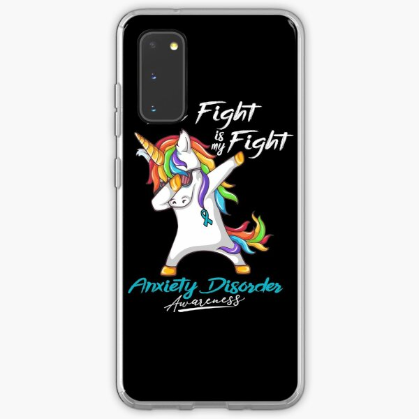 Her Fight Is My Fight Anxiety Disorder Awareness Samsung Galaxy Soft Case