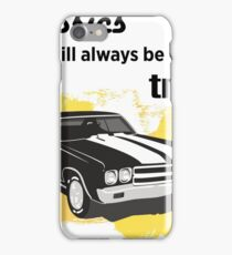 classics will always be on trend iPhone Case/Skin