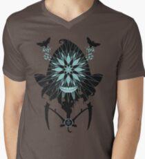 Flight of the Reaper Moth Mens V-Neck T-Shirt