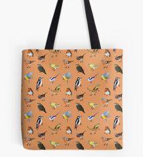 British Bird Pattern Tote Bag