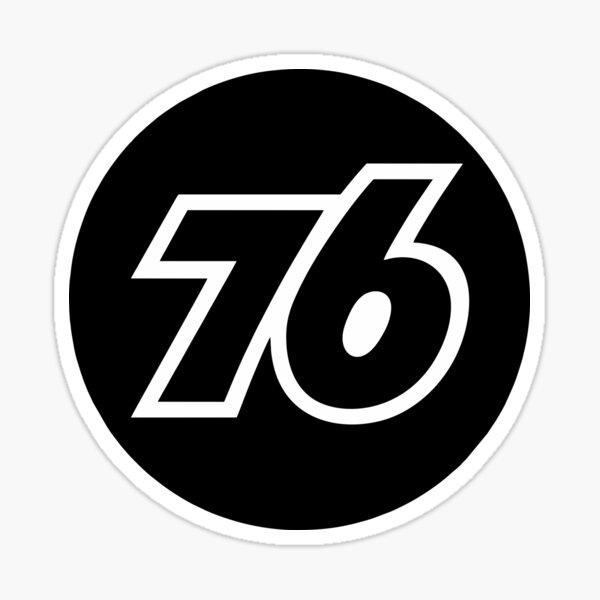 76 Union Oil  Sticker