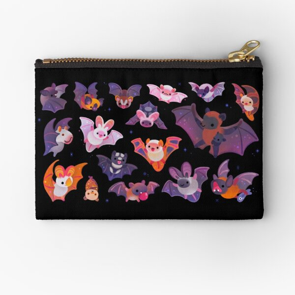 Bat Zipper Pouch