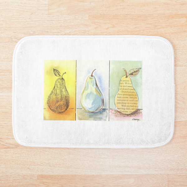 Pear Trio Bath Mat