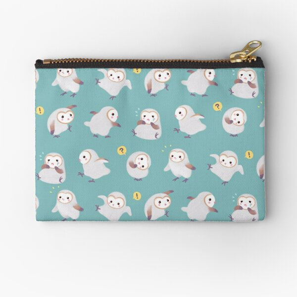 Baby barn owls Zipper Pouch
