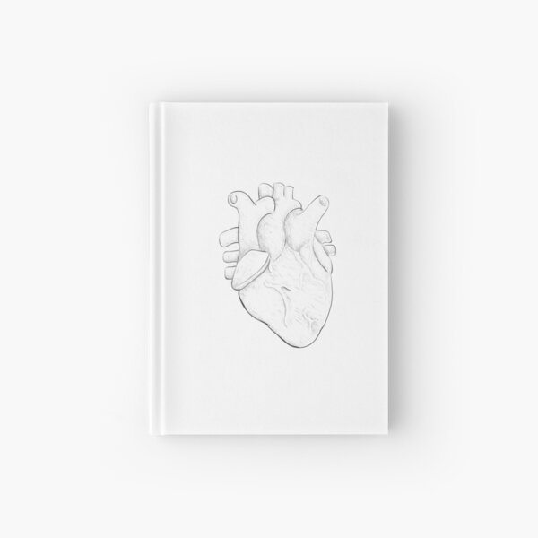 Poster, poster, drawing | love Hardcover Journal