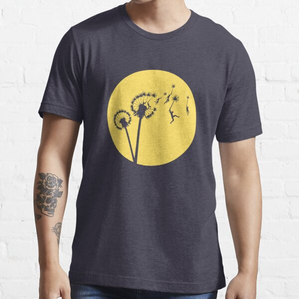 Dandylion Flight - Reversed Circular Essential T-Shirt