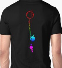 Lexa's Tattoo (Rainbow) Slim Fit T-Shirt